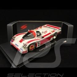 Porsche 962 C le Mans 1987 n° 2 Brun Motorsport 1/43 Spark S5509