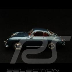 Porsche 356 A 1956 1/43 Schuco 450256500 bleu aigue-marine aquamarine blue aquamarinblau