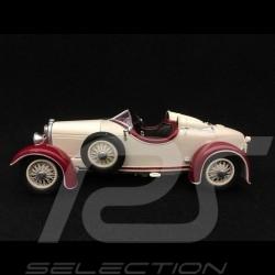Ferdinand Porsche Austro Daimler ADR 6 Sport Torpedo 1929 blanche 1/43 fahrTraum 43010
