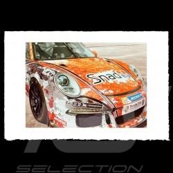 Porsche Poster 911 type 991 Cup François Bruère - VA128