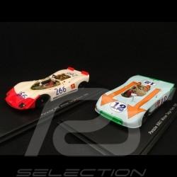Duo Porsche 908 Sieger Targa Florio 1970 1/43 Spark 43TF69 43TF69