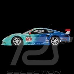 Slot car Porsche 911 RSR 12h Sebring 2015 n° 17 Falken 1/32 Scalextric C3851