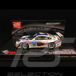 Porsche 911 GT3 RSR type 997 24h Nürburgring 2008 n°121 Frikadelli 1/43 Minichamps 437086121