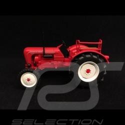 Porsche Diesel Tractor Master 4 cylinders N419 1962 red 1/43 Atlas 750