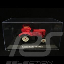Porsche Diesel Tracteur Master 4 cylindres N419 1962 1/43 Atlas 750 rouge red rot