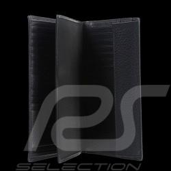 Portefeuille Porsche Porte-monnaie Cervo 2.1 LV11 Porsche Design 4090002420 cuir noir black leather Schwarze Leder
