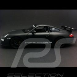 Porsche 997 GT3 RS matte black 1/24 Welly MAP02499717