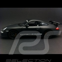 Porsche 911 type 997 GT3 RS 1/24 Welly MAP02499717 noir mat matte black matt schwarz