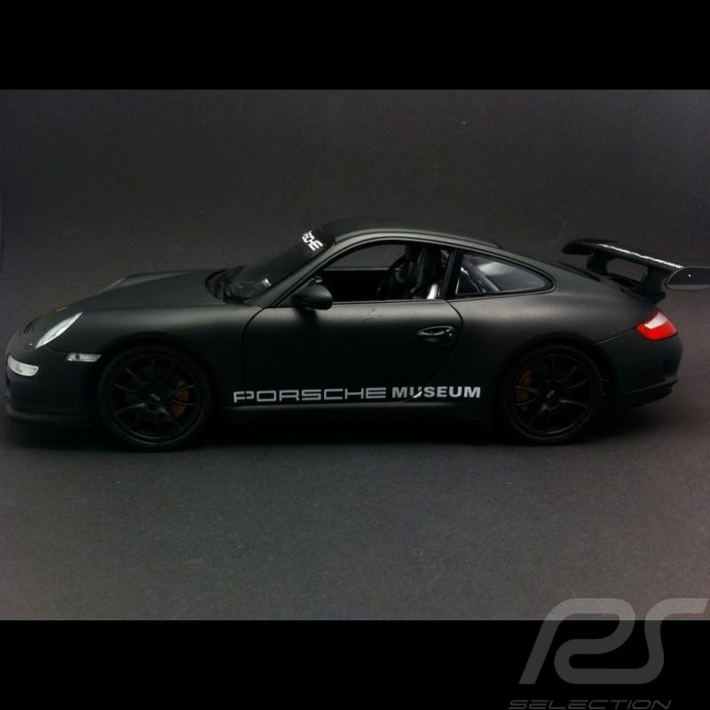 Porsche 911 type 997 GT3 RS 1/24 Welly MAP02499717 noir mat matte black matt schwarz