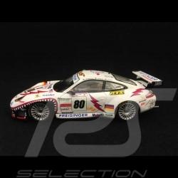 Porsche 911 typ 996 GT3 RS Le Mans 2002 n° 80 1/43 Spark S5515