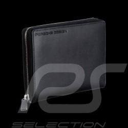 Portefeuille Porsche Porte-monnaie Classic Line 2.1 V8Z Porsche Design 4090000107 cuir noir black leather Schwarze leder