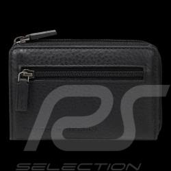 Etui porte-clés Porsche Cervo LZ Porsche Design 4090000455 cuir noir black leather schwarze Leder