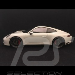 Porsche 911 Carrera GTS type 991 phase II grey chalk 1/18 Spark WAX02100032