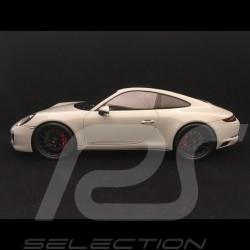 Porsche 911 Carrera GTS type 991 phase II gris craie 1/18 Spark WAX02100032