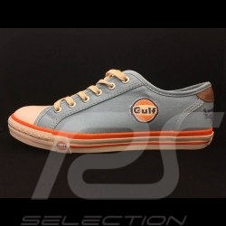 Gulf Sneaker / Basket Schuhe style Converse Gulfblau - Damen