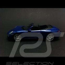 Porsche 911 type 991 Carrera 4 Cabriolet 2012 bleu 1/43 Minichamps WAP0201110C