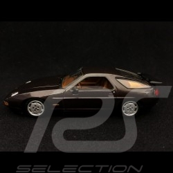 Porsche 928 S4 1991 1/43 Minichamps 400062420 marron métallisé metallic brown braun