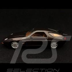 Porsche 928 S4 1991 metallic brown 1/43 Minichamps 400062420