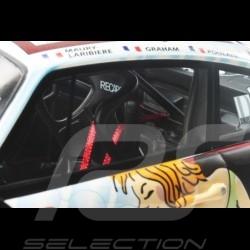 Porsche 911 type 993 GT2 Le Mans 1998 n° 68 Wolinski femme nue naked girl nackte frau 1/18 GT Spirit GT729