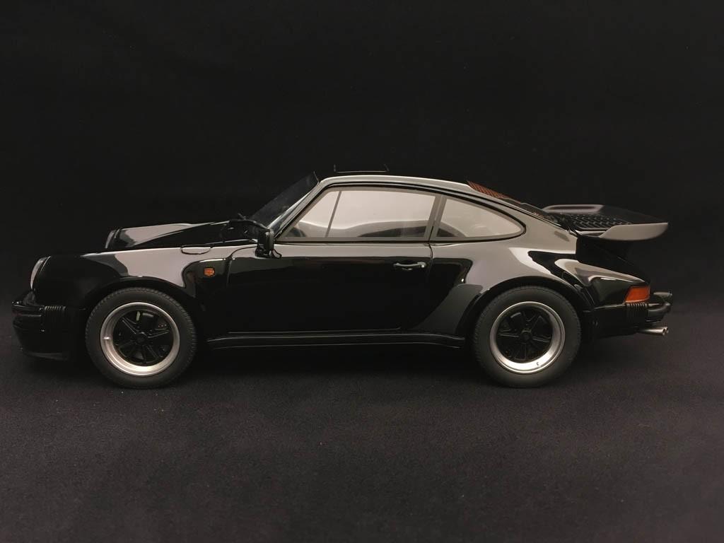 Porsche 911 Type 930 Turbo S 1989 Sonauto Black 1 18 Gt Spirit Gt178 Selection Rs