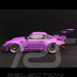 Porsche 911 type 993 RWB Rotana 2013 1/18 GT SPIRIT GT737 violet mat matte purple matte purpurrote