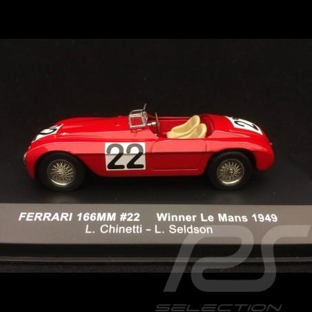 Ferrari 166 MM Sieger Le Mans 1949 n° 22 Chinetti 1/43 IXO LM1949