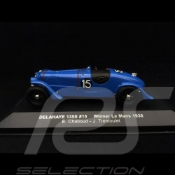 Delahaye 135 S  Sieger Le Mans 1938 n° 21 Chaboud 1/43 IXO LM1938