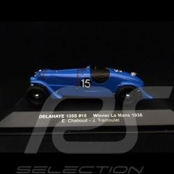Delahaye 135 S n° 15 Chaboud 1/43 IXO LM1938 vainqueur winner sieger Le Mans 1938