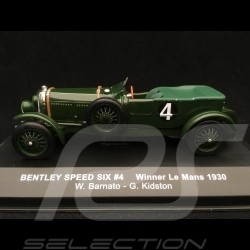 Bentley Speed Six winner Le Mans 1930 n° 4 Barnato 1/43 IXO LM1930