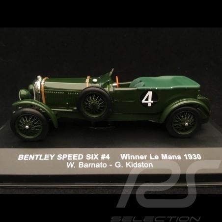 Bentley Speed Six n° 4 Barnato 1/43 IXO LM1930 Le Mans 1930 vainqueur winner sieger