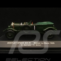 Bentley Speed Six winner Le Mans 1929 n° 1 Barnato 1/43 IXO LM1929