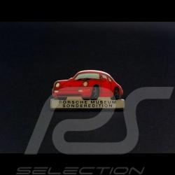Porsche Pin broche 964 Porsche Museum Edition rouge red rot