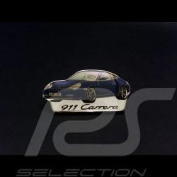 Porsche Pin broche 996 Carrera phase 2 bleue blue blau