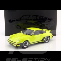Porsche 911 Turbo 3.0 1977 vert acide 1/12 Minichamps 125066121