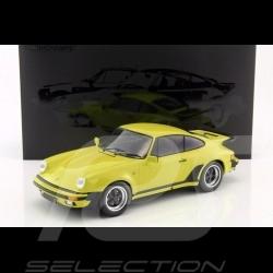 Porsche 911 Turbo 3.0 1977 1/12 Minichamps 125066108 jaune citron lime yellow limonengrün
