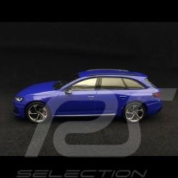 Audi RS 4 Avant 2017 1/43 Spark 5011714231 bleu nogaro blue blau