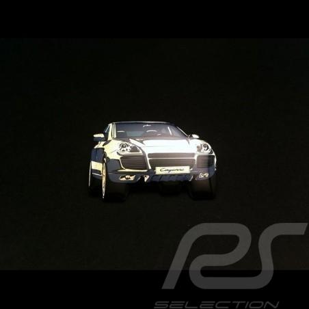 Porsche Pin Cayenne Turbo weiß