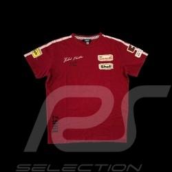 T-shirt Herbert Müller n° 210 Ollon Villars 1967 rouge - homme red - men rot - Herren