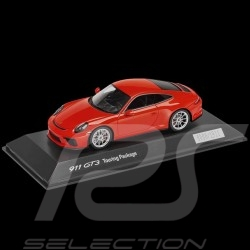 Porsche 911 GT3 type 991 Touring Package 2017 1/43 Spark WAP0201640J orange fusion lava orange lavaorange