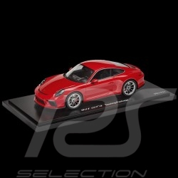 Porsche 911 GT3 type 991 Touring Package 2017 1/18 Spark WAP0211650J rouge indien Indian red Indischrot
