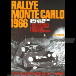 Carte postale Porsche 911 n° 147 vainqueur Rallye Monte Carlo 1966 10x15 cm