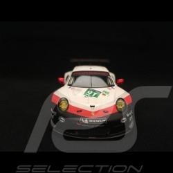 Porsche 911 RSR type 991 24h du Mans 2017 n° 91 Porsche GT Team 1/43 Spark S5833