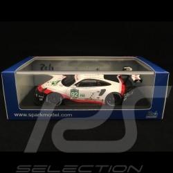 Porsche 911 RSR type 991 24h du Mans 2017 n° 92 Porsche GT Team 1/43 Spark S5834