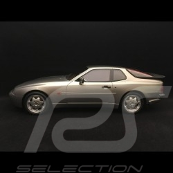 Porsche 944 Turbo S 1988 silver grey metallic 1/18 LS-Collectibles LS023B