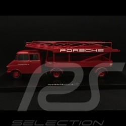 Camion Opel Blitz 1963 rouge 1/43 Schuco 450901500 transporteur Porsche carrier LKW-Träger