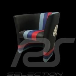 Fauteuil chair stuhl cabriolet Racing Inside n° 48 noir / bandes Motorsport