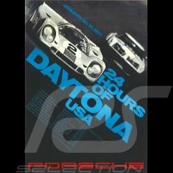 Carte postale Porsche 917 n° 2 Gulf vainqueur 24h Daytona 1971 10x15 cm