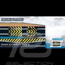 Bahnset Scalextric Verlängerungspaket n° 2 Scalextric C8511