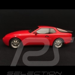 Porsche 944 Turbo Cup 1988 1/18 LS-Collectibles LS023A rouge indien india red indischrot