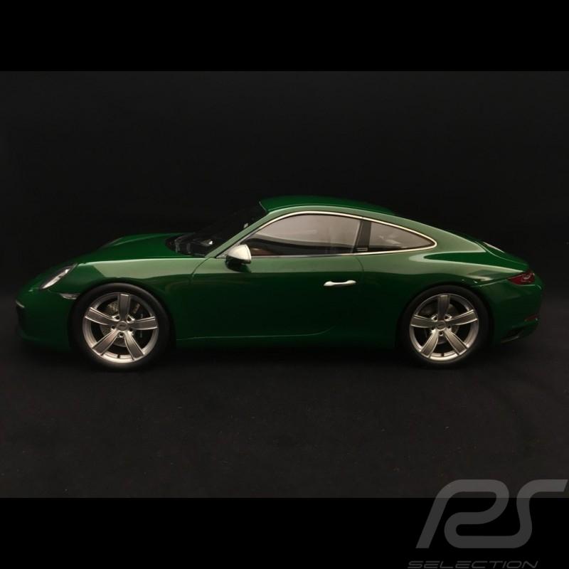 Porsche 911 type 991 Carrera S N ° 1 million 1000000 Irish Green 1/18 Spark WAX02100911
